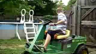 john deere rx75 tractor riding lawnmower