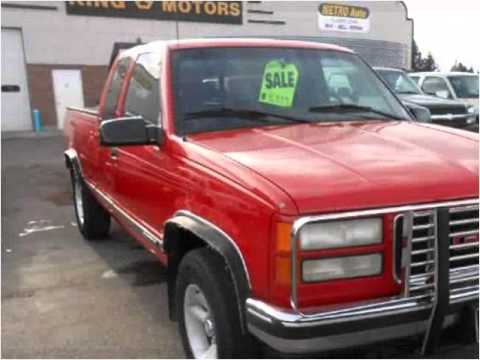 1996 Gmc Sierra C K 1500 Used Cars Great Falls Mt Youtube