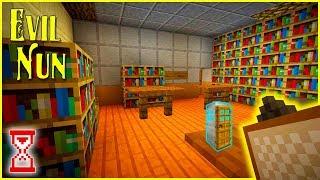 Построил Библиотеку и расставил шкафы по всей школе | Minecraft Evil Nun