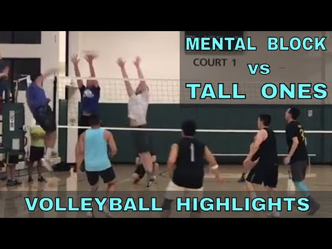 Mental Block vs Tall Ones Volleyball HIGHLIGHTS (7/13/17) IVL Men's Open