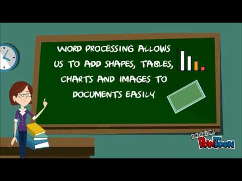What is word processing?