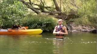 Camping Les Vignes d'Or - Un danseur aquatique !