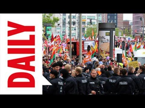 Gewalttäter sind noch in der Stadt - BILD Daily Spezial live 08.07.17