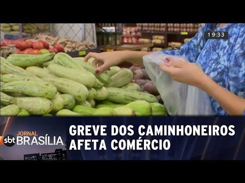 Greve: preços nas alturas e mercados fazendo racionamento | Jornal SBT Brasília 25/05/2018