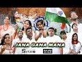 Jana Gana Mana By Oli And Team   Indian National Anthem   A Big Salute From Raiganj   2019