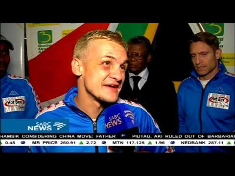 SA boxer Hekkie Budler makes history in Japan