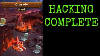How to hack Heroes Charge Crusade loot!