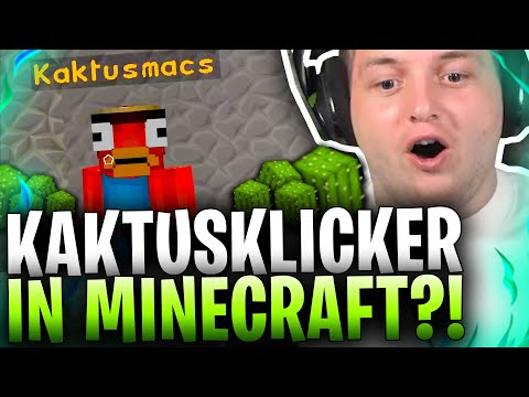 🚨🌵KAKTUSKLICKER SUCHT ALARM! | BEI KAKTUSSUCHT und Minecraftgrind WENDEN SIE SICH ans LEGEND TEAM!