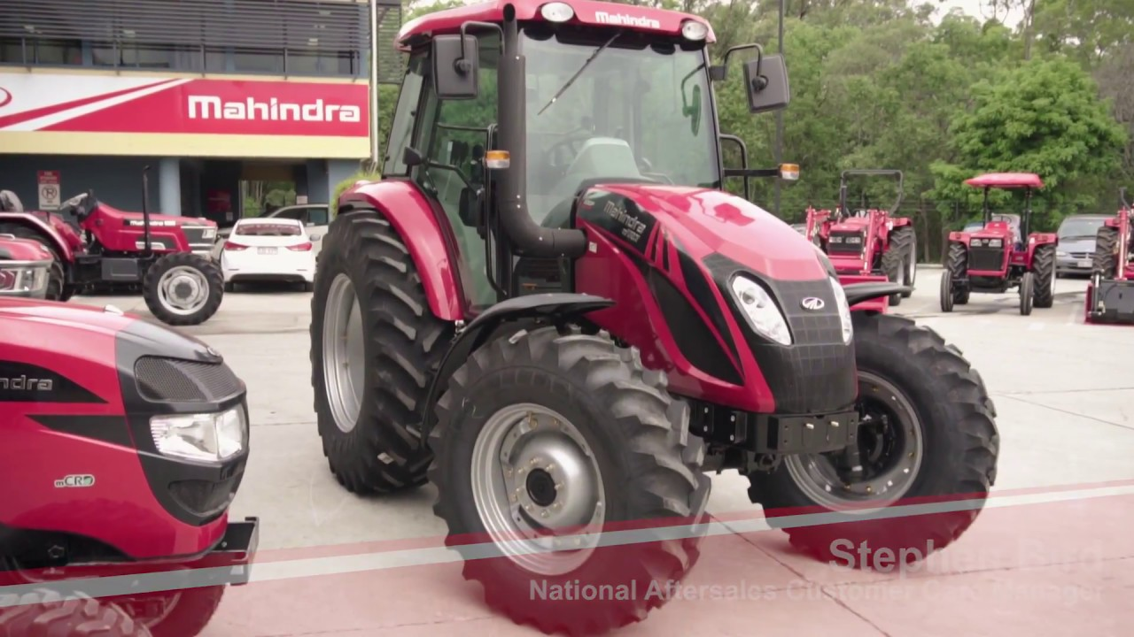 Mahindra Tractor Headlights : Mahindra mforce p horse power tractor youtube