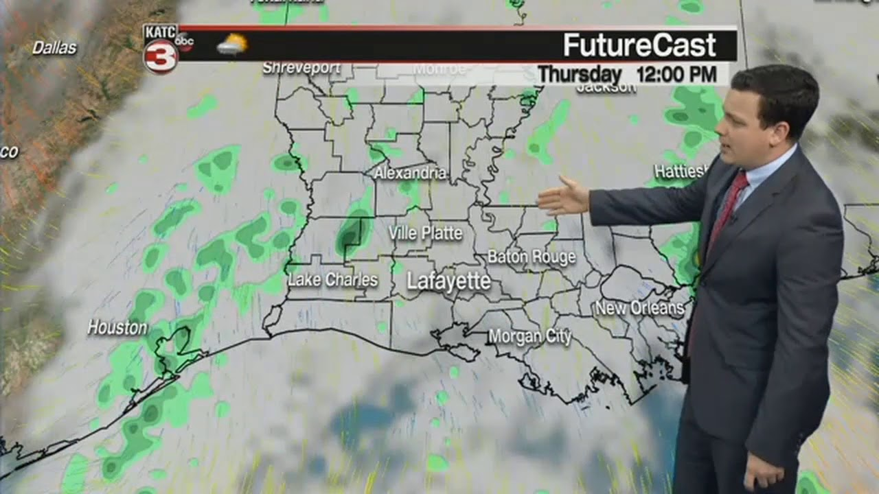 Daniel's 6pm Full Weather Forecast