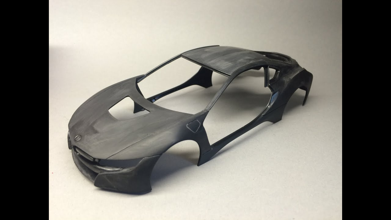 Revell Bmw I8 Part 1 Prepping The Body Youtube
