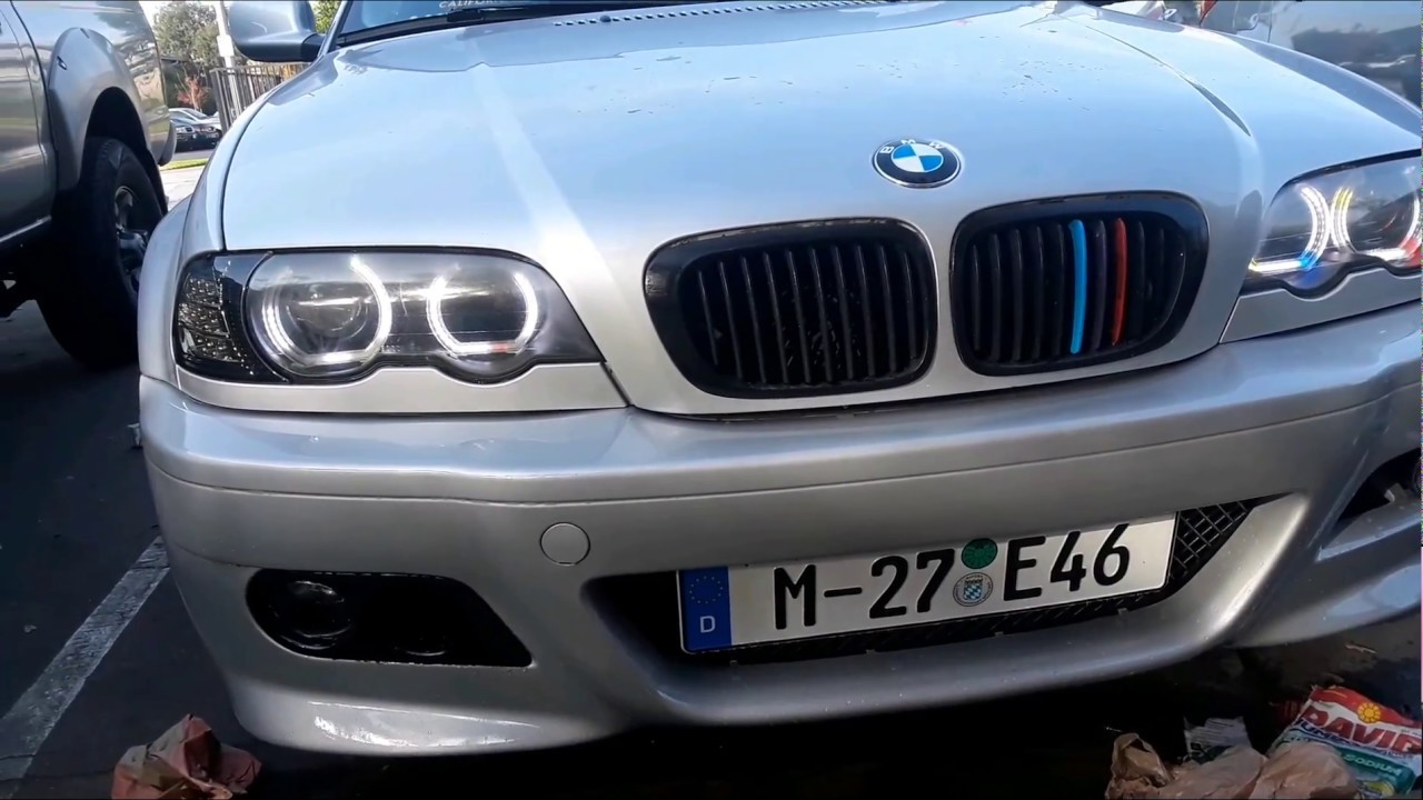small resolution of bmw e46 blacked out headlights 20 for cheap