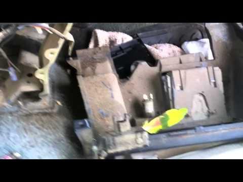 94 Toyota Dash Removal
