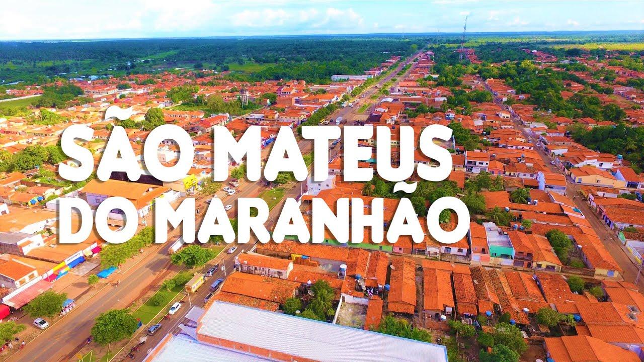 SÃO MATEUS DO MARANHÃO VISTO DE CIMA - YouTube