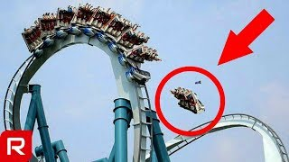 10 Deadly Roller Coaster Accidents (Scary Amusement park)