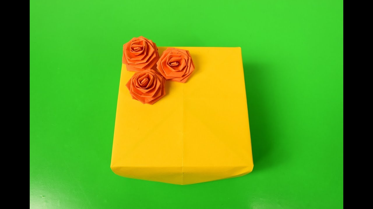 Quilling Rose Origami - YouTube - photo#44