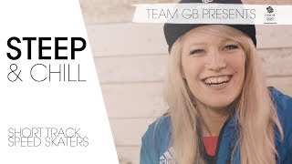 Winter Olympic Speed Skating stars ft. Elise Christie | Steep & Chill Episode 1