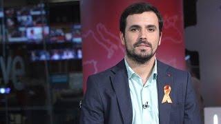 """Entrevista a Alberto Garzón en """"La Noche en 24 Horas"""" (Canal 24 Horas 24.06.2015)"""
