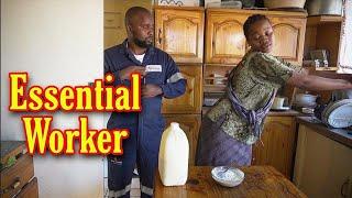 Sbongile noMdu - Essential worker (LEON GUMEDE)