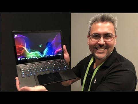 Transforma el Razer Phone en una Laptop Proyecto Linda CES 2018