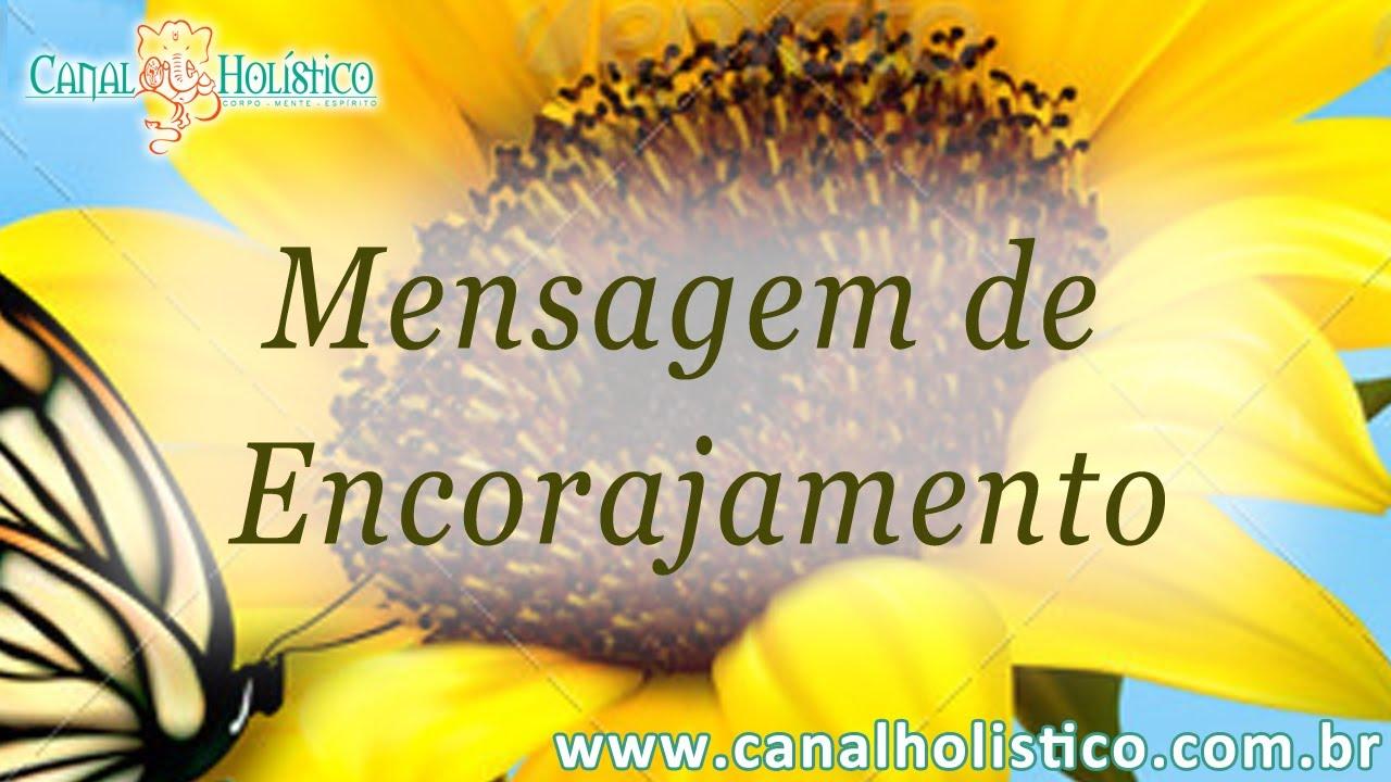 Mensagem De Encorajamento De Deus: Mensagem De Encorajamento