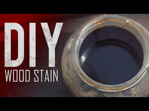 How to make DIY Wood STAIN For 1$