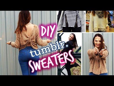 diy tumblr inspired sweaters fall amp winter fashion