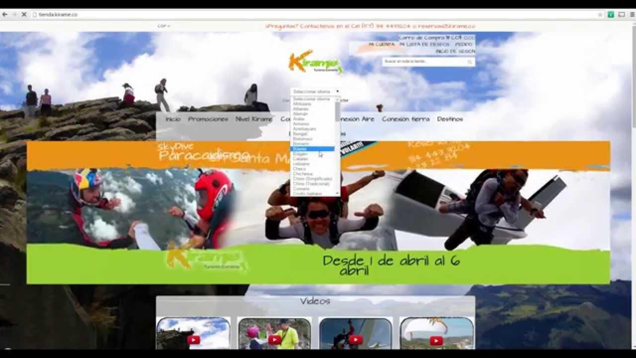 ¡Internacionalízate! Turorial como traducir mi pagina web a todos los idiomas con google gratis