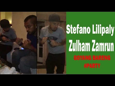 Pemain Timnas Indonesia Stefano Lilipaly & Zulham Zamrun Goyang Bareng PARTY mengalahkan VIetnam