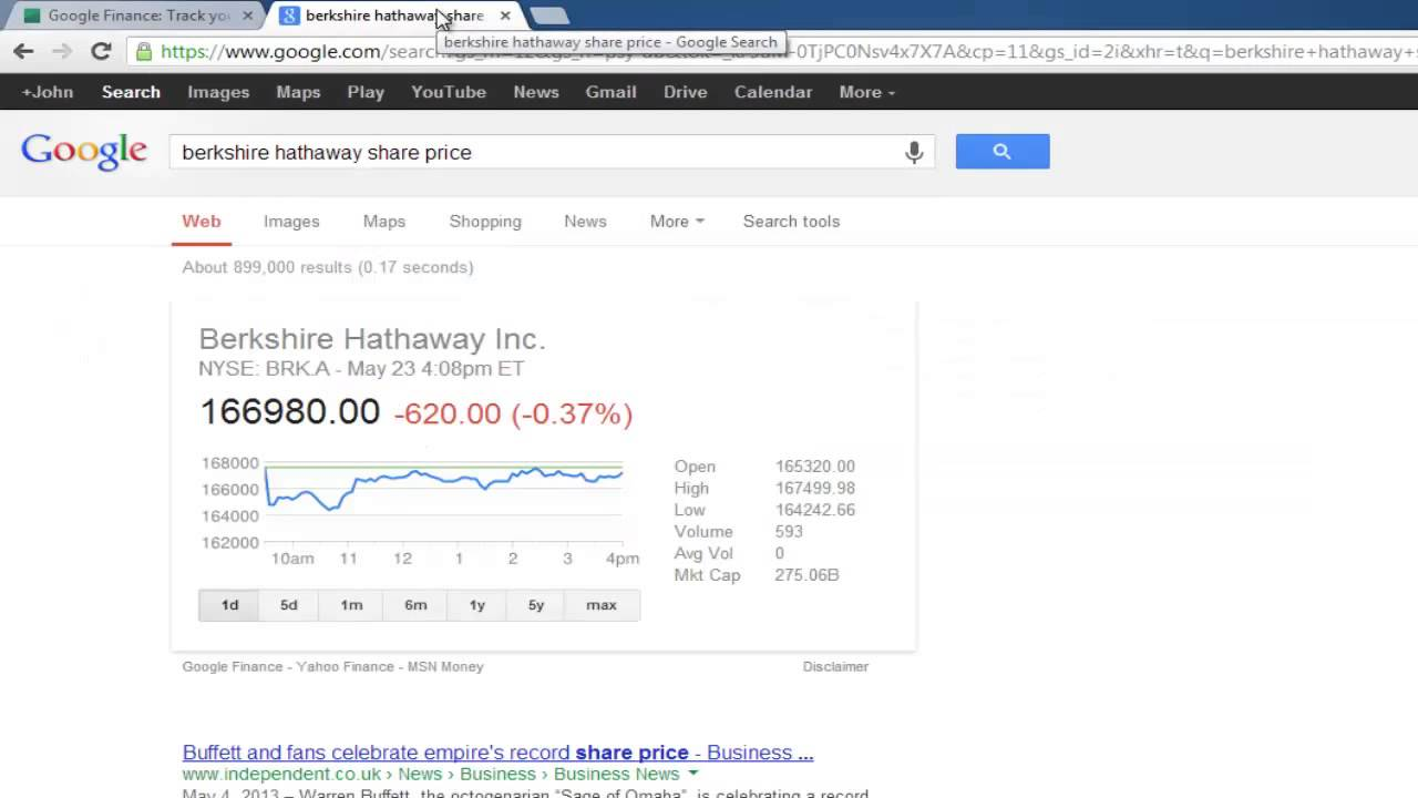 Short guide to google finance portfolios youtube biocorpaavc