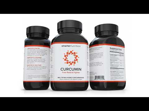 Smarter Curcumin - Potency and Absorption in a SoftGel. 95% Tetra-Hydro Curcuminoids. T...