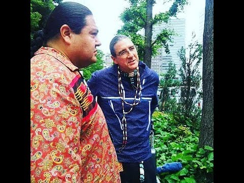「多様星人ですよね」 Dakota Access Pipeline[DAPL] 今回は、アメリカ先住民族と呼ばれる多様星人、マイロンさん、パトリックさんの登場!英語です...