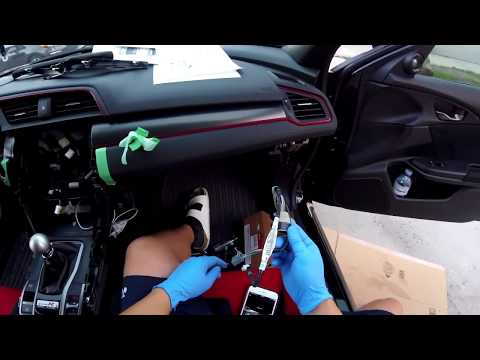 2016+ Genuine Honda Civic Accessory Install - Interior Ambient Lighting