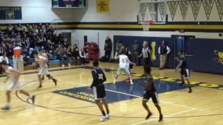 Jared Kimbrough one handed dunk after P.J. Ringel scores
