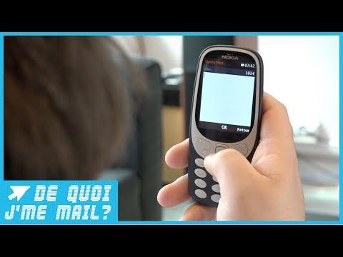 Nokia 3310 : gadget indispensable ou arnaque ? DQJMM (1/2)