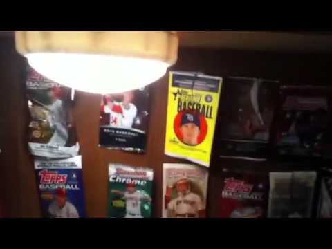 Baseball Card Room Tour