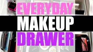 Everyday Makeup Drawer | February 2016