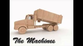 Mack Truck Agricultural Wood Toy Pattern For Cnc Router And Laser