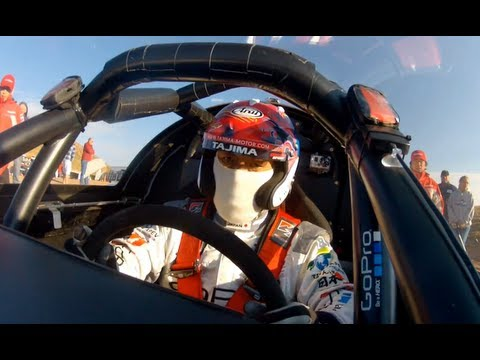 "GoPro:  ""Monster"" Tajima - Pikes Peak International Hill Climb - Day 3 Practice Run 2012"