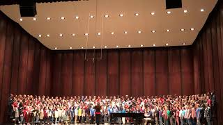 Middle Mixed All-State Chorus Dress Rehearsal - Sing to Me