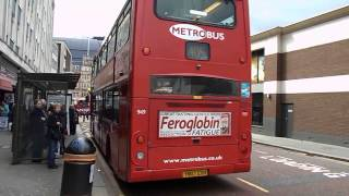 Route 405 London Buses at Croydon 18 April 2013