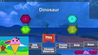 JURASSIC PARK IN ROBLOX?   BECOMING A DINOSAUR!