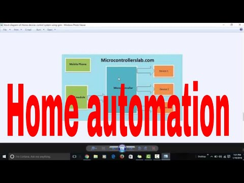 home automation system using microcontroller