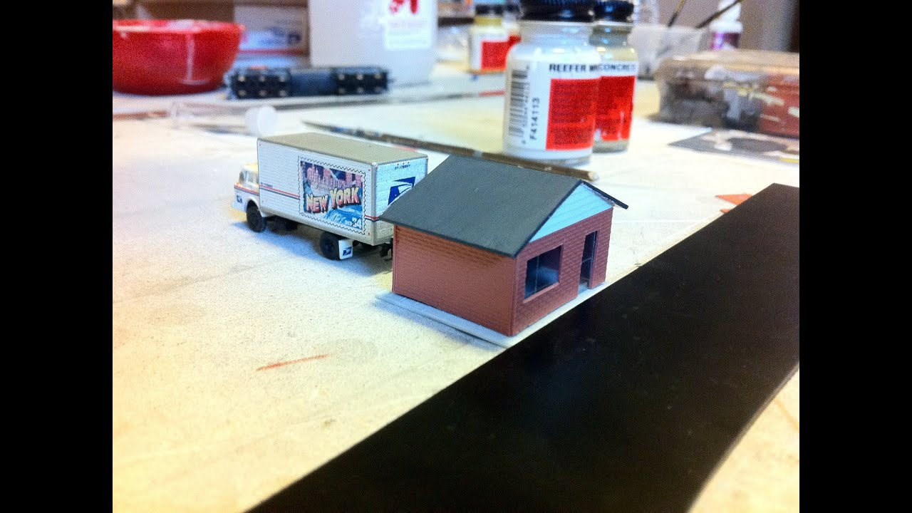 how to build a office. Model Trains: How To Build A Post Office, And HOW TO GET RAILROAD JOB. - YouTube Office