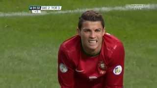 Cristiano Ronaldo skills and goals vs Sweden Away HD 720p 19/11/2013