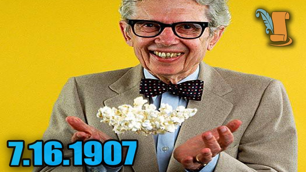 A Day In History: The Life of Orville Redenbacher - YouTube