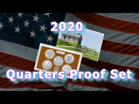 US Mint Releases 2020 America The Beautiful Quarters Proof Set