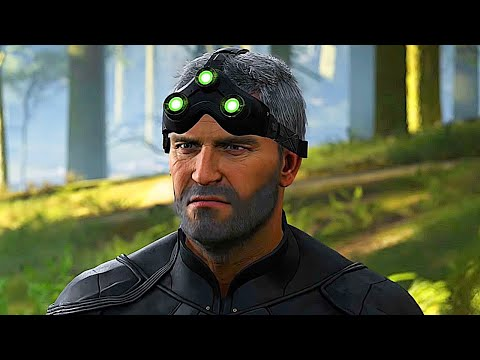 GHOST RECON BREAKPOINT Sam Fisher All Cutscenes Deep State DLC HD