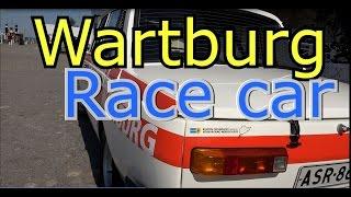 Wartburg  353 WR Race car- Rallycar-Старый Гоночный автомобиль(Wartburg 353 WR Race car- Rallycar-Старый Гоночный автомобиль. Старые классические автомобили 古いクラシックカ Old car in Mustalahti..., 2016-06-06T15:24:29.000Z)