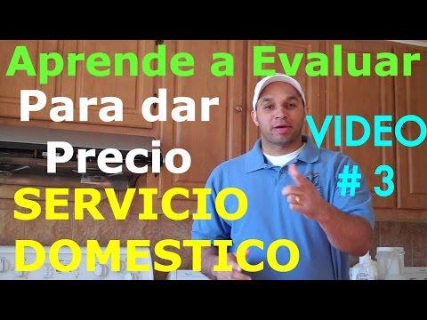 cleaning services price, SERVICIO DOMESTICO Los Precio #3